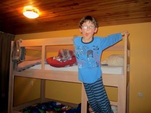 Bram stapelbed slaapkamer vakantiehuis Ardennen (4)
