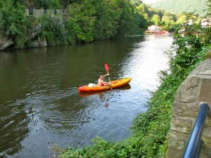 Kano varen La Roche vakantiehuis Ardennen