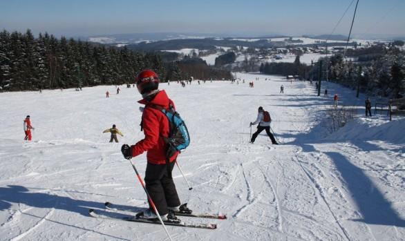 Skiën op de Baraque de Fraiture