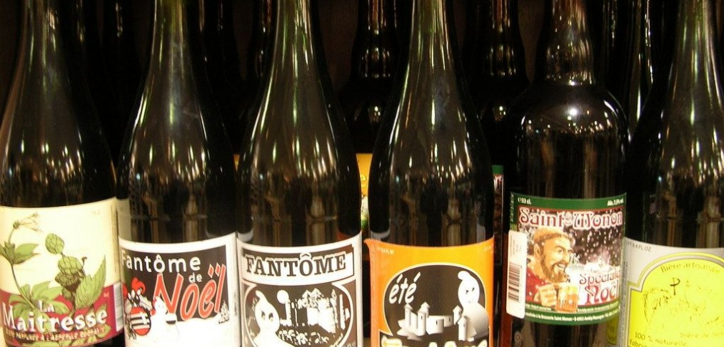 bierflesjes-brasserie Fantôme-le Ciel et La Roche